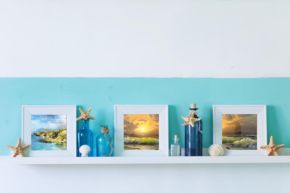 Морски стил - декорация на стена